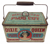 Dixie Queen Tobacco Lunch Pail