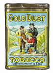 Gold Dust Pocket Tobacco Tin