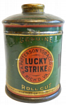 Lucky Strike Round Canister