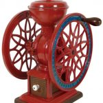 Antique Two Wheel Coffee Grinder